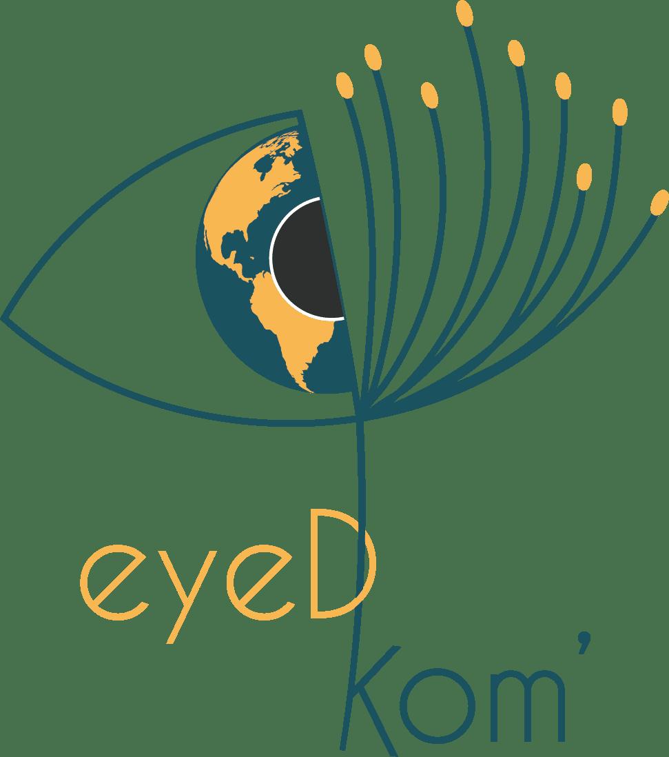 Logo eyeDKom - Consultante en communication marketing freelance